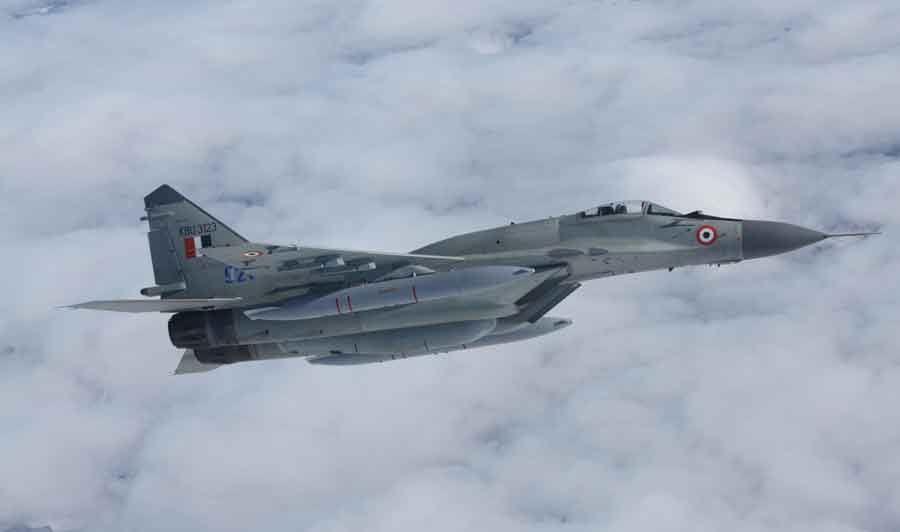 First Upgraded MiG-29s for IAF