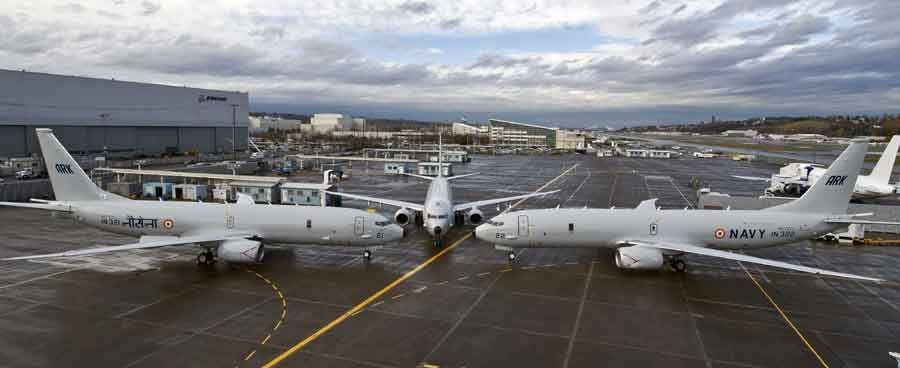 Indian Navy receives first P-8I