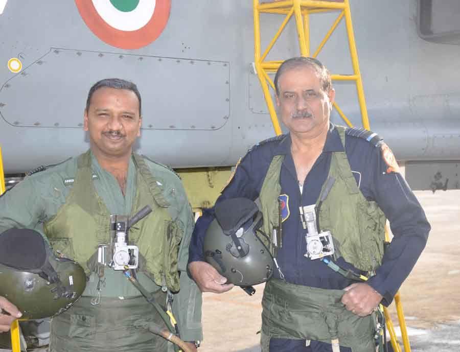 Air Chief Marshal NAK Browne flew Jaguar