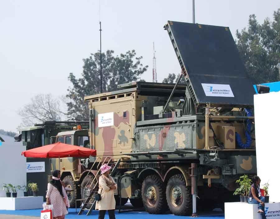 BEL Weapon Locating Radar