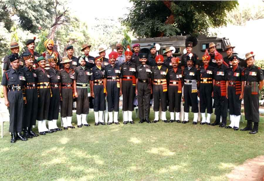 The Infantry Regiments of the Indian Army